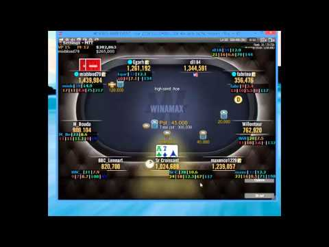 Misclick levels A7o winamax main LIVE