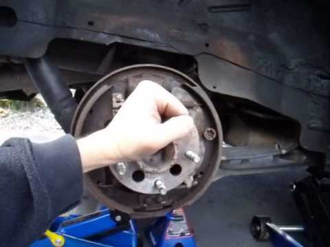 How To Fix & Replace a Rear Wheel Bearing Hub Aztek Rendezvous Venture Montana Alero Grand Am