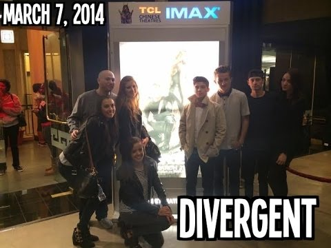 March 7, 2014 My Perfect Roommate + Divergent Screening with Friends