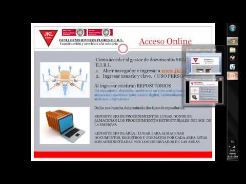 TUTORIAL PROCEDIMIENTO CONTROL DE DOCUMENTOS Y REGISTROS JKL  PARTE 1