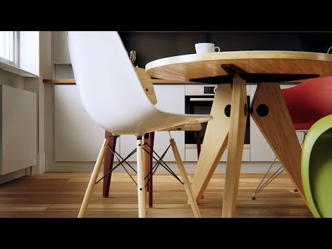 Unreal Engine 4 – Loft in London Virtual Tour – Tech Demo [60fps][FullHD]
