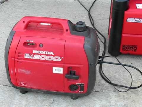 Review CPE Generator 2000 watt inverter VS Honda EU2000i