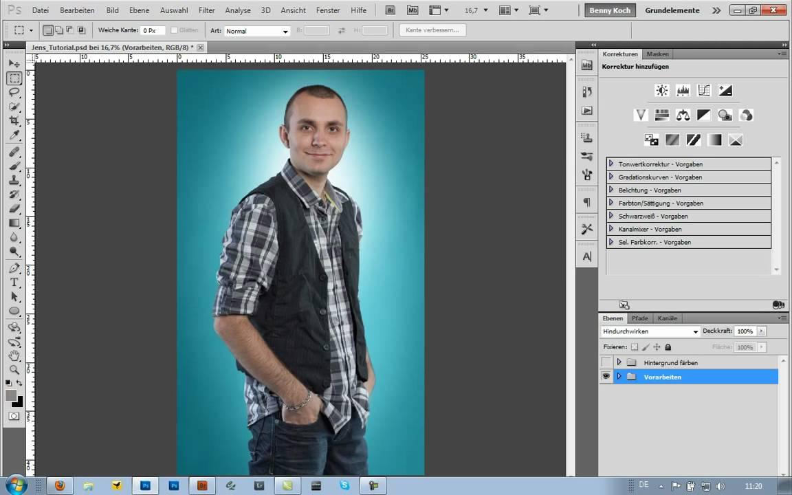 Wie Hintergrundbild leicht entfernen