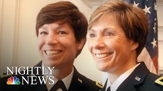 Sisters Make History As U.S. Army Generals | NBC Nightly News