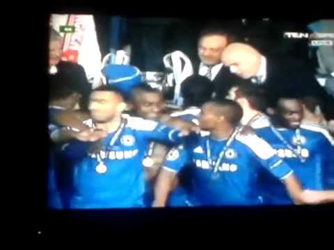 Chelsea 1-1 Bayern Munich Chelsea FC Celebrations and Champions League Presentations  19-05-2012