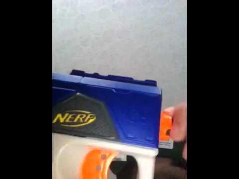 How to turn a nerf gun into a arrow gun
