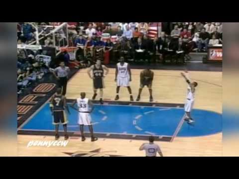 Allen Iverson Highlights vs Indiana Pacers 00/01 NBA Playoffs Game1 *Reggie Miller Game Winner