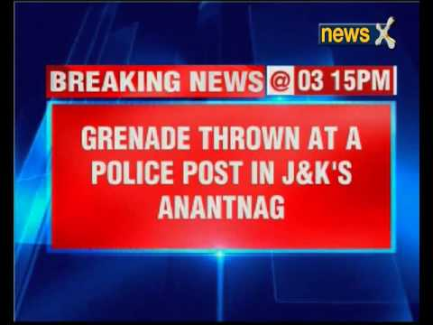 Grenade attack on police post in Anantnag, Jammu and Kashmir