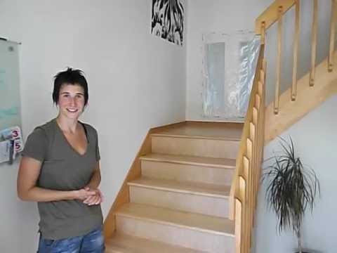 Recouvrement escalier en bois franc youtube - Renovation escalier bois interieur ...