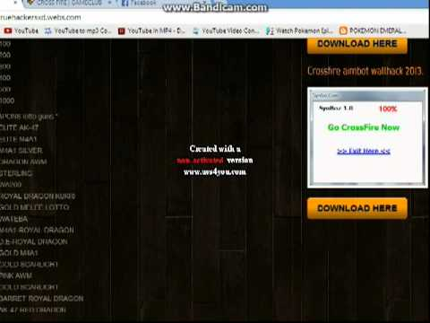 Crossfire hack free ecoin, gp and weapons november/december 2013