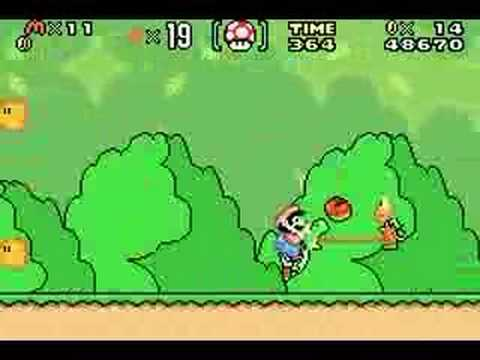 Super Mario World Game Boy Advance