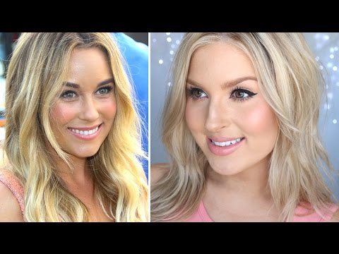Lauren Conrad Inspired Hair & Makeup! ♡ Soft Tousled Waves