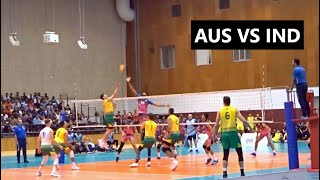 Australia vs India Volleyball friendly match 2019