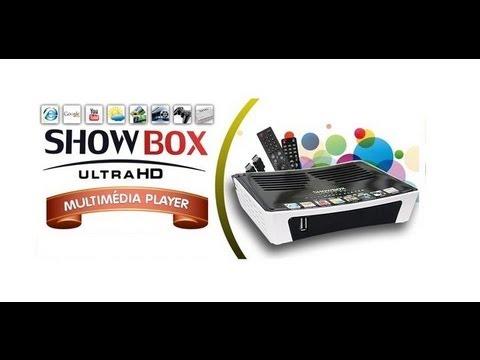 SHOWBOX ULTRA HD ADICIONAR  HISPASAT PARA VISUALIZAR BARRA DE  SINAL PASSO A PASSO