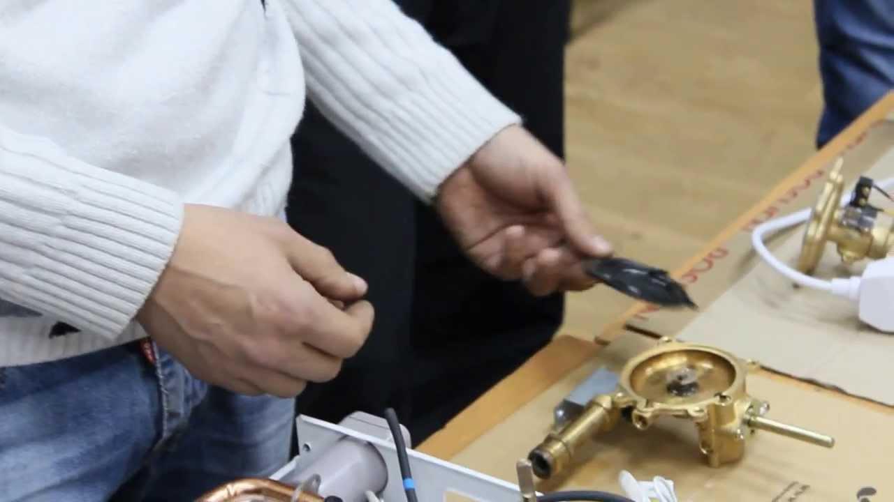 Газовые колонки termaxi - обучение сервису и ремонту