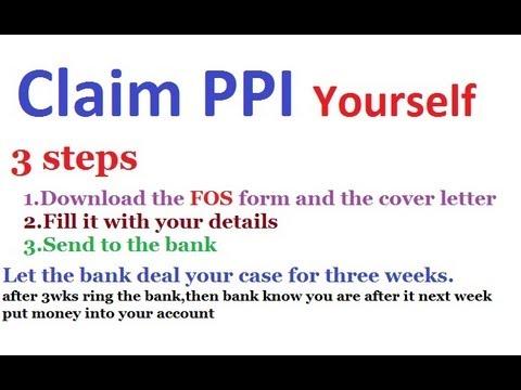 Claim Form Halifax Ppi Claim Form