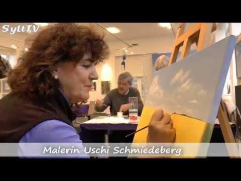 Offenes Atelier in der Stadtgalerie in Westerland