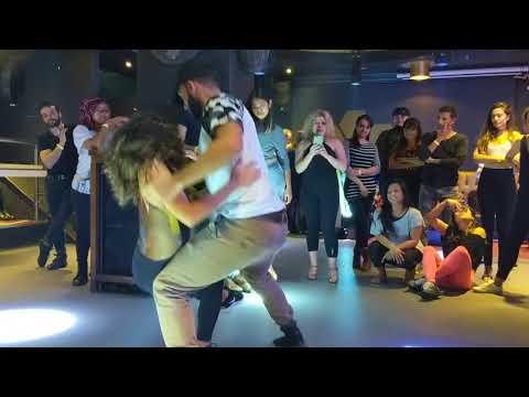 ZoukLambadaUK: Aline & Charles Class Demo ~ video by Zouk Soul