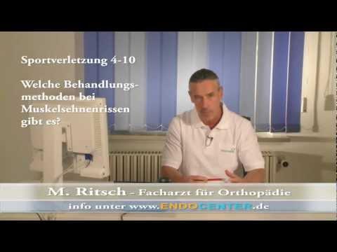 4 - Welche Behandlungsmethoden Bei Muskelsehnenrissen Gibt Es?