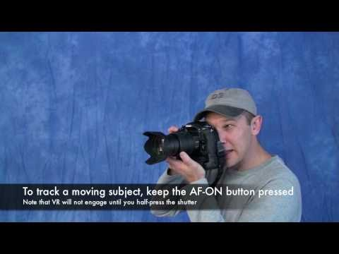 Nikon DSLR AF-On Button Technique