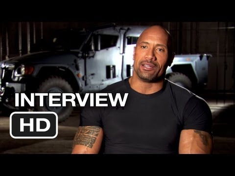 Fast & Furious 6 Interview - Dwayne Johnson (2013) - Vin Diesel Movie HD