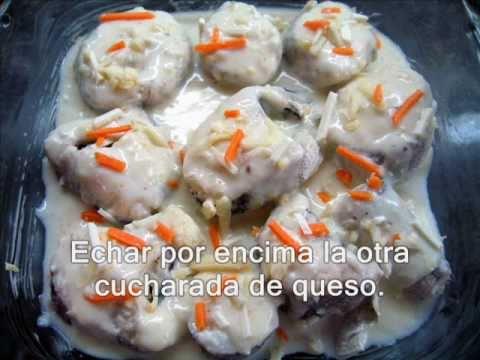 Merluza gratinada- Receta de Cocina - RecetasNet