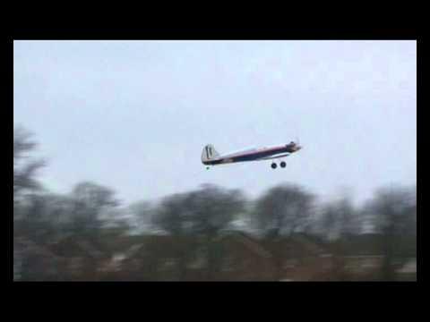 Great Planes Nitro Super Sportstar Rc Plane OS 46 LA Glow Engine with Spitfire