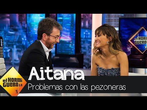 Aitana cuenta la curiosa anécdota que tuvo con unas pezoneras - El Hormiguero 3.0