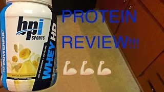 BPI Sports Whey HD Protein Review + TASTE TEST!