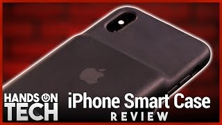 Apple iPhone Smart Case Review - Best Battery Case for iPhone XS, XS Max, & XR?