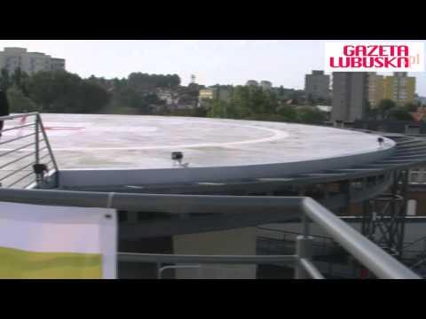 Otwarcie Lądowiska Na Dachu Szpitala W Zielonej Górze 21.09.2012