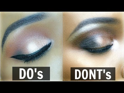 EYESHADOW DO's & DON'Ts   OMABELLETV
