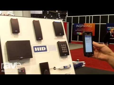 InfoComm 2016: HID Global Demonstrates Mobile Access to Card Readers