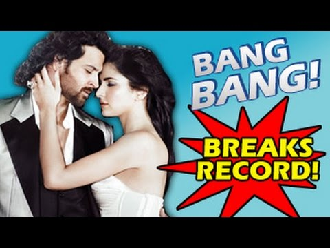 Bang Bang! Official Teaser Trailer ft Hrithik Roshan & Katrina Kaif BREAKS RECORDS