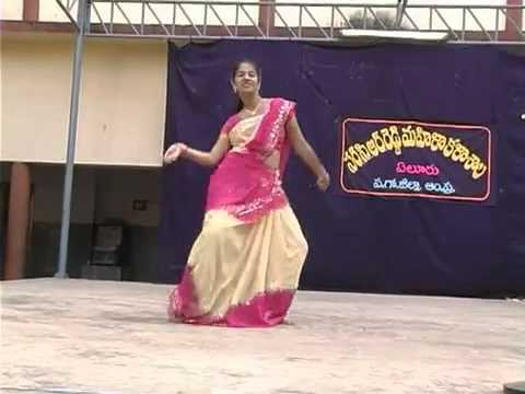 andhra clg girls dance