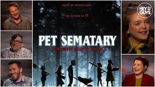 Jason Clarke, Jeté Laurence & Amy Seimetz on Stephen King's Pet Sematary 2019
