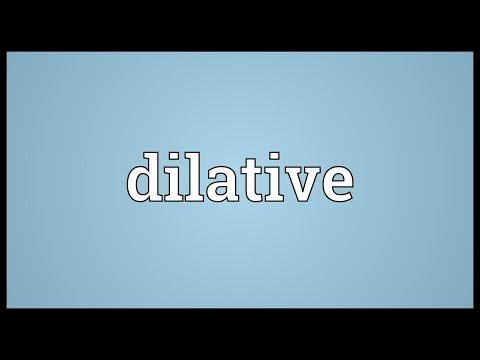 Header of dilative