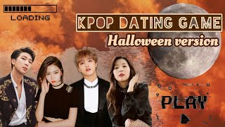 Kpop dating game || Halloween/horror  version 🎃🧡
