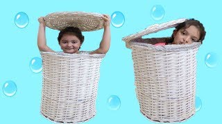 Masal and Elif Öykü Hide and Seek New Home Johny Johny Yes Papa Fun pretend kid video