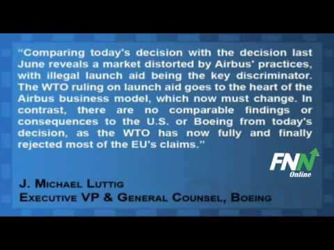 WTO Rejects 80% of EU Claims Against Boeing, Finds $2.7B In Illegal Subsidies