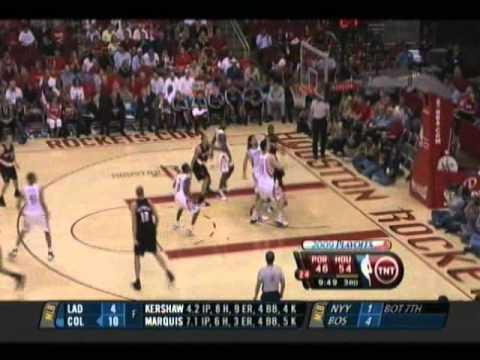 Yao Ming - NBA Playoffs 2009 1st Round - Game 4