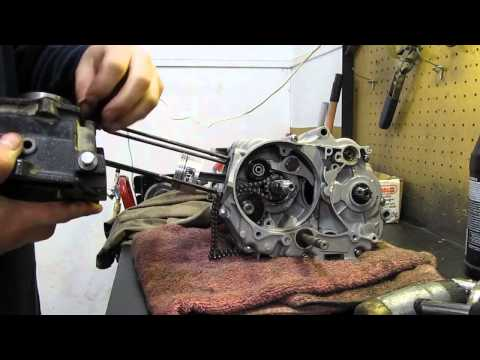 110cc pit bike engine teardown & rebuild pt3