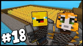 Minecraft - TIME TRAVELLERS! - GLORIOUS FARM! #18 W/Stampy & Ash!