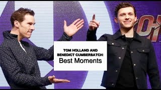Tom Holland and Benedict Cumberbatch: BEST MOMENTS 2018