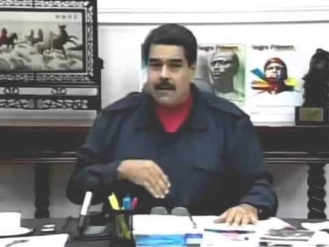 Presidente de Venezuela Nicolas Maduro defiende México contra Magnate Donald Trump 18 Junio 2015