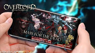 New Anime Games! Overlord Mass For The Dead - Android IOS Gameplay