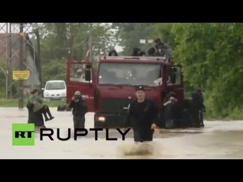 Serbia: State of emergency declared as floods kill several