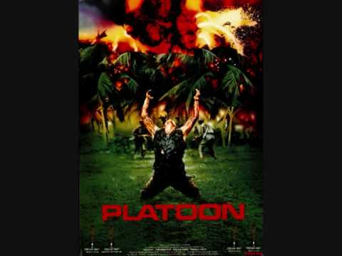 "The theme ""The Tracks of My Tears"" for Oliver Stone's ""Platoon"" (1986). The song is by The Miracles."