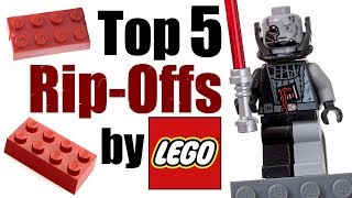 Top 5 Rip-Offs by LEGO!