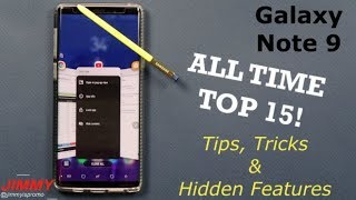 Note 9 ALL TIME Top 15 Tips, Tricks & Hidden Features